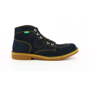 Kickers KICKSTONER NAVY YELLOW THREAD