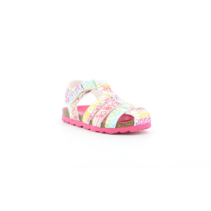 Kickers SUMMERTAN BLANC MULTICO ETHNIC