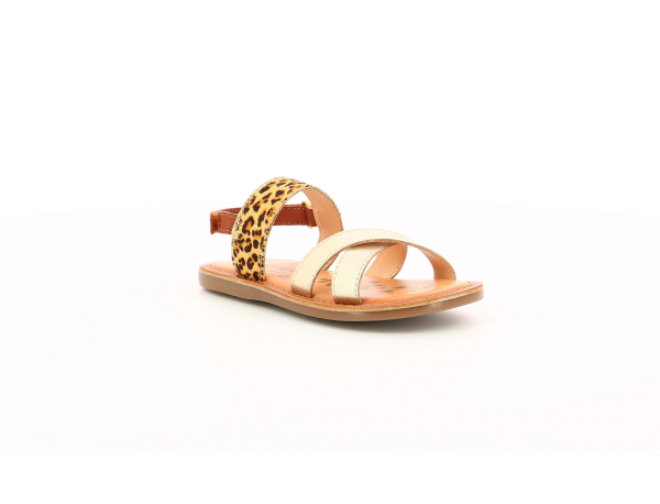 Kickers DYACROSS GOLD LEOPARD