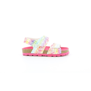 Kickers SUMMERKRO BLANC MULTICO ETHNIC