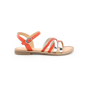 Kickers ESTELLIE ORANGE ARGENT