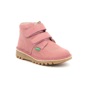 Kickers NEOVELCRO ROSE ANTIQUE