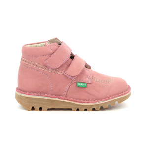 Kickers NEOVELCRO ANTIQUE PINK