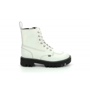 Kickers KIZZIIE HIGHER BLANC