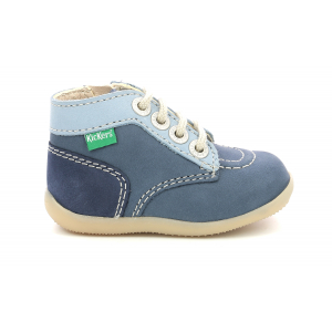 Kickers BONZIP-2 OTHER BLUE