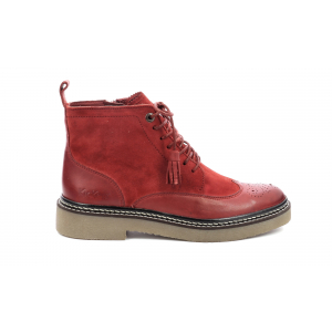 Kickers OXANYHIGH ROUGE FONCE