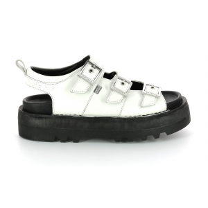 Kickers KNOX LO BUCKLE BLANC