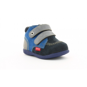 Kickers BABYSCRATCH NAVY GREY