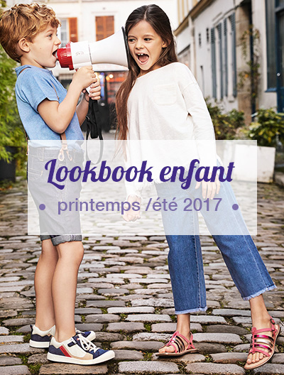 Lookbook Kickers enfants - printemps / été 2017