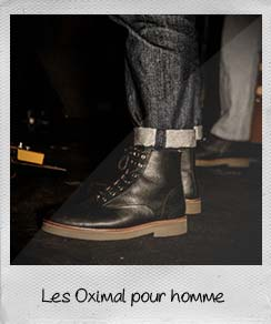 boots pour homme oximal
