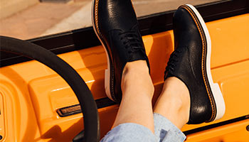 Kickers leather derbies shoes for women